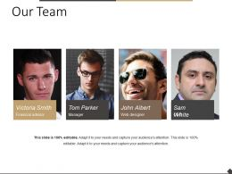 Our Team Powerpoint Templates Microsoft