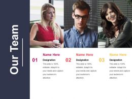 Our Team Powerpoint Templates Microsoft Template 1