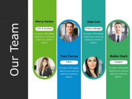 Our Team Powerpoint Topics Template 1