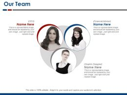 Our Team Ppt Background Graphics