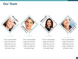 Our Team Ppt Design Ideas