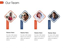Our Team Ppt Example File
