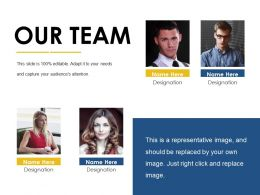 our team ppt examples