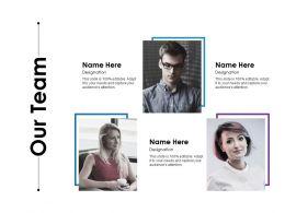 Our Team Ppt Ideas Graphics Tutorials