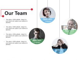 Our Team Ppt Ideas Styles