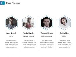 Our Team Ppt Influencers