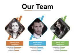 Our Team Ppt Infographic Template Graphics Template