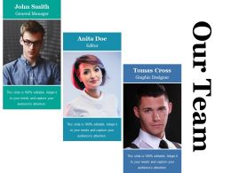 Our Team Ppt Information