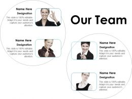 Our Team Ppt Layouts Portfolio
