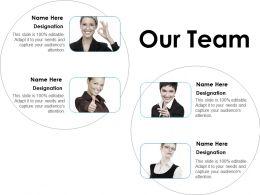 Our Team Ppt Layouts Portfolio