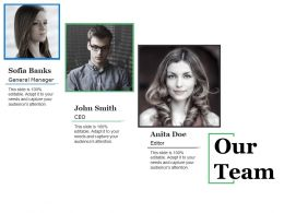 Our Team Ppt Microsoft