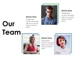 Our Team Ppt Picture