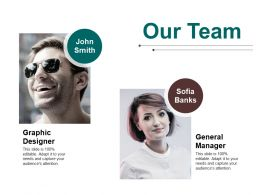 Our Team Ppt Pictures Elements