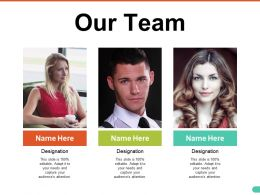 Our Team Ppt Pictures Infographics