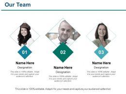 Our Team Ppt Portfolio Microsoft