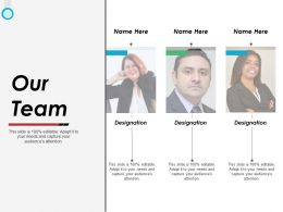 Our Team Ppt Powerpoint Presentation File Graphics Example