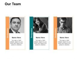 Our Team Ppt Powerpoint Presentation Ideas Portrait