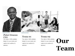 Our Team Ppt Professional Design Inspiration
