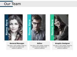 Our Team Ppt Professional Example Topics