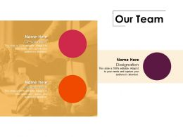 Our Team Ppt Professional Examples