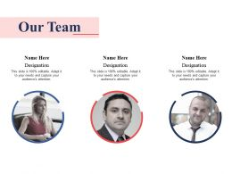 Our Team Ppt Professional Graphics Download