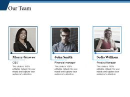 Our Team Ppt Professional Graphics Tutorials