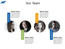 Our Team Ppt Professional Visual Aids