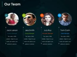 Our Team Ppt Sample Download