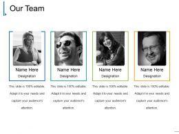 Our Team Ppt Sample Template 1