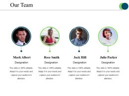 Our Team Ppt Samples Template 1