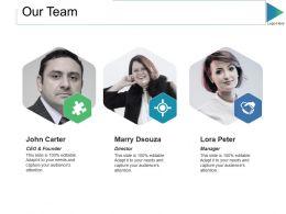 Our Team Ppt Slides Design Templates
