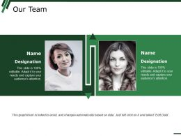 Our Team Ppt Styles Infographic Template