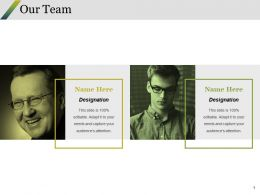 Our Team Ppt Styles Layout Ideas