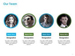 Our Team Ppt Summary Diagrams