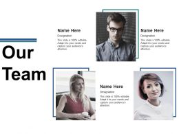 Our Team Ppt Summary Graphic Tips