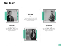 Our Team Responsibility G13 Ppt Powerpoint Presentation Model Files