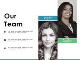 Our Team Sales Motivation With Two Persons Ppt Ideas Graphic Images
