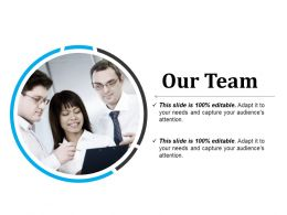 Our Team Sample Of Ppt