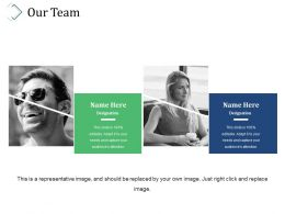 Our Team Sample Presentation Ppt