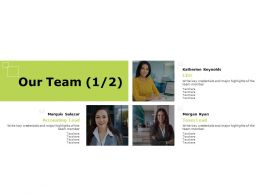 Our Team Strategy K355 Ppt Powerpoint Presentation File