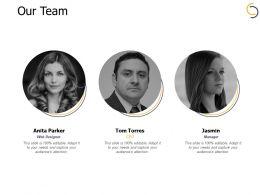 Our Team Teamwork B22 Ppt Powerpoint Presentation Gallery Deck