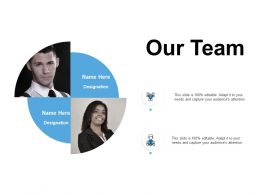Our Team Teamwork Communication F215 Ppt Powerpoint Presentation Format