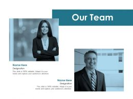 Our Team Teamwork Communication F274 Ppt Powerpoint Presentation Pictures Clipart