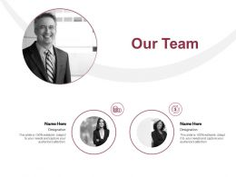 Our Team Teamwork Dollar E52 Ppt Powerpoint Presentation Show Guide