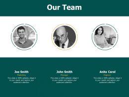 Our Team Teamwork F682 Ppt Powerpoint Presentation Portfolio Topics