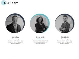 Our Team Teamwork Introduction F149 Ppt Powerpoint Presentation Portfolio