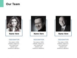 Our Team Teamwork Introduction F206 Ppt Powerpoint Presentation Graphics