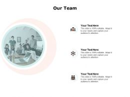 Our Team Teamwork Introduction F397 Ppt Powerpoint Presentation Pictures Shapes