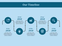 Our Timeline Ppt Slides Introduction