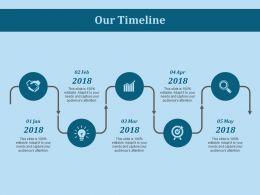 Our Timeline Ppt Slides Introduction